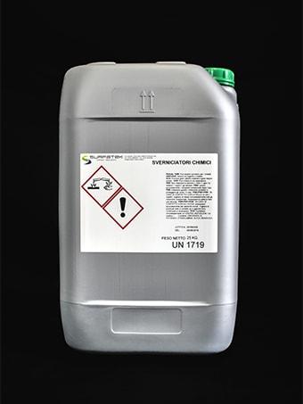 Confezione sverniciatore chimico da 25 kg