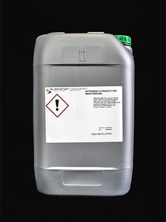 Detergente per la manutenzione degli ambienti e dei macchinari
