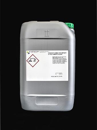 Confezione prodotto per impianti di trattamento acque