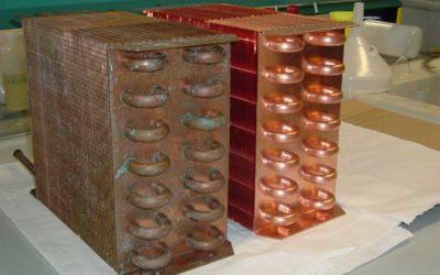 Disossidazione di scambiatori di calore in rame