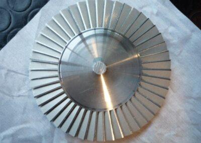 Sgrassaggio particolari in alluminio post trattamento