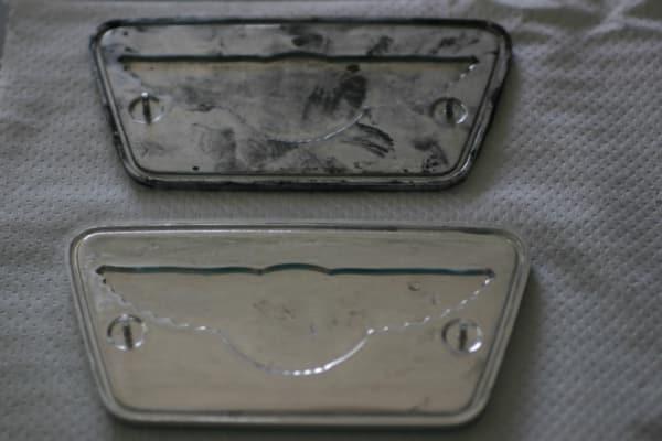 Risultato rimozione paste di lucidatura da alluminio