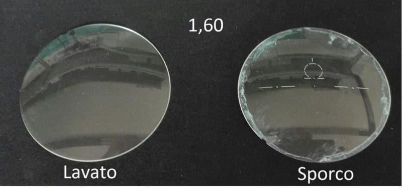Secondo ciclo di lavaggio per lenti oftalmiche in materiale plastico